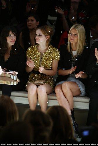 Лондон Fashion Week 2009 - барберри, burberry