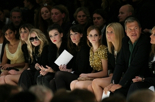 Londres Fashion Week 2009 - burberry