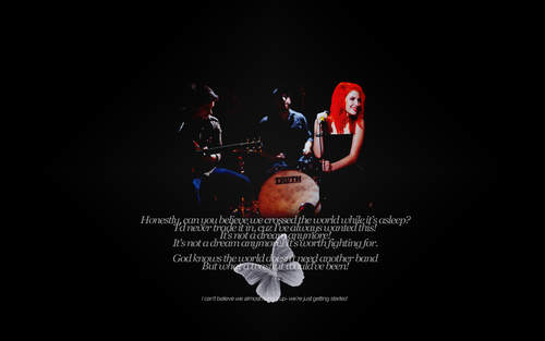 Looking Up - paramore Wallpaper