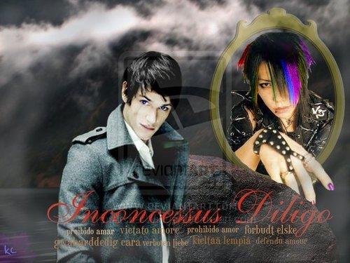 Mortal Instruments wallpaper entitled Magnus x Alec Desktop