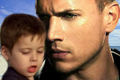 Michael Scofield with his son MJ - michael-scofield fan art