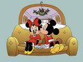 Mickey and Minnie - mickey-and-minnie wallpaper