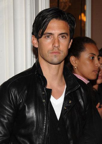 Milo Ventimiglia Fashion Week