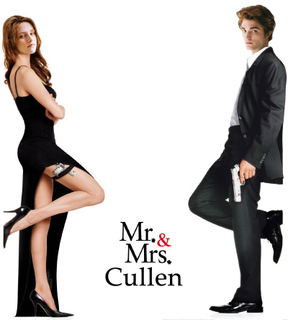 Mr & Mrs Cullen :)