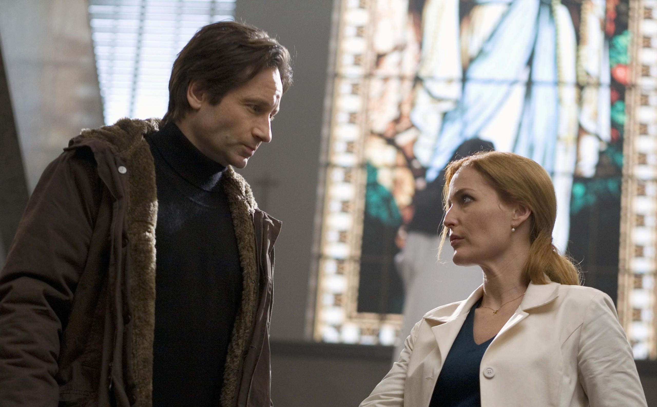 Mulder and Scully - The X-Files: I Want to Believe Photo