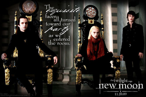 The Volturi wallpaper containing a throne called New Moon