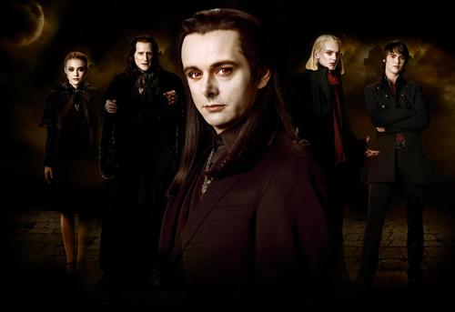 The Volturi wallpaper with a business suit and a well dressed person called New Moon