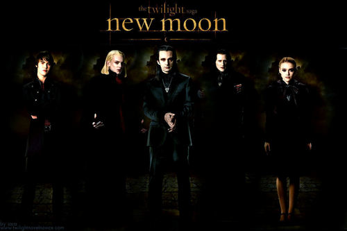 The Volturi wallpaper with a business suit and a concert called New Moon