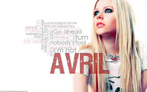 Avril Lavigne wallpaper probably with a portrait called Nobody's Fool Wallpaper <33