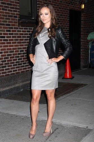 Olivia@'Late mostrar With David Letterman'