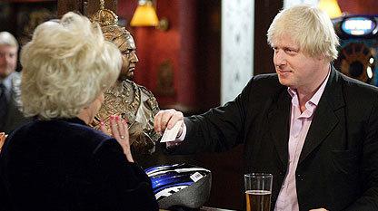Peggy and Boris Johnson