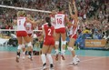 Polish Woman Team  4.10.09 - volleyball photo