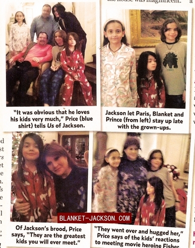 Prince, Paris, Blanket and Mike