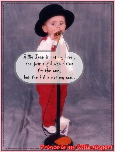 Prince Singing Billie Jean! haha <3