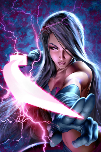 Marvel Superheroines Wallpaper Called Psylocke