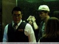 Robsten back from dining with friends- in taxi then in elevator (yesterday) - twilight-series photo