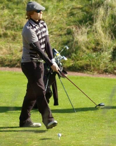 Rupert - Golfing