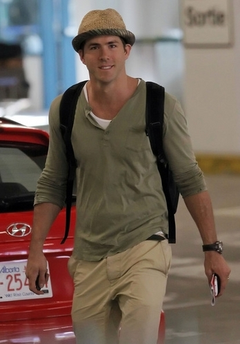 Ryan at Vancouver Airport