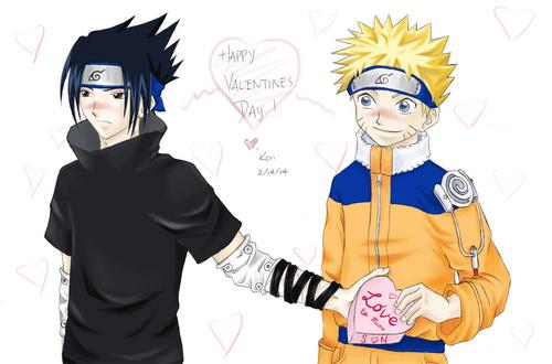 SasuNaru_ Valentine