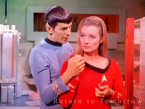 Spock and Ann Mulhall