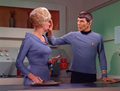 Spock and Christine in ''Return to tomorrow''