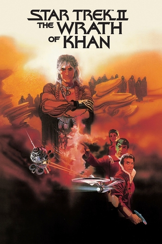 سٹار, ستارہ Trek II: The Wrath of Khan poster