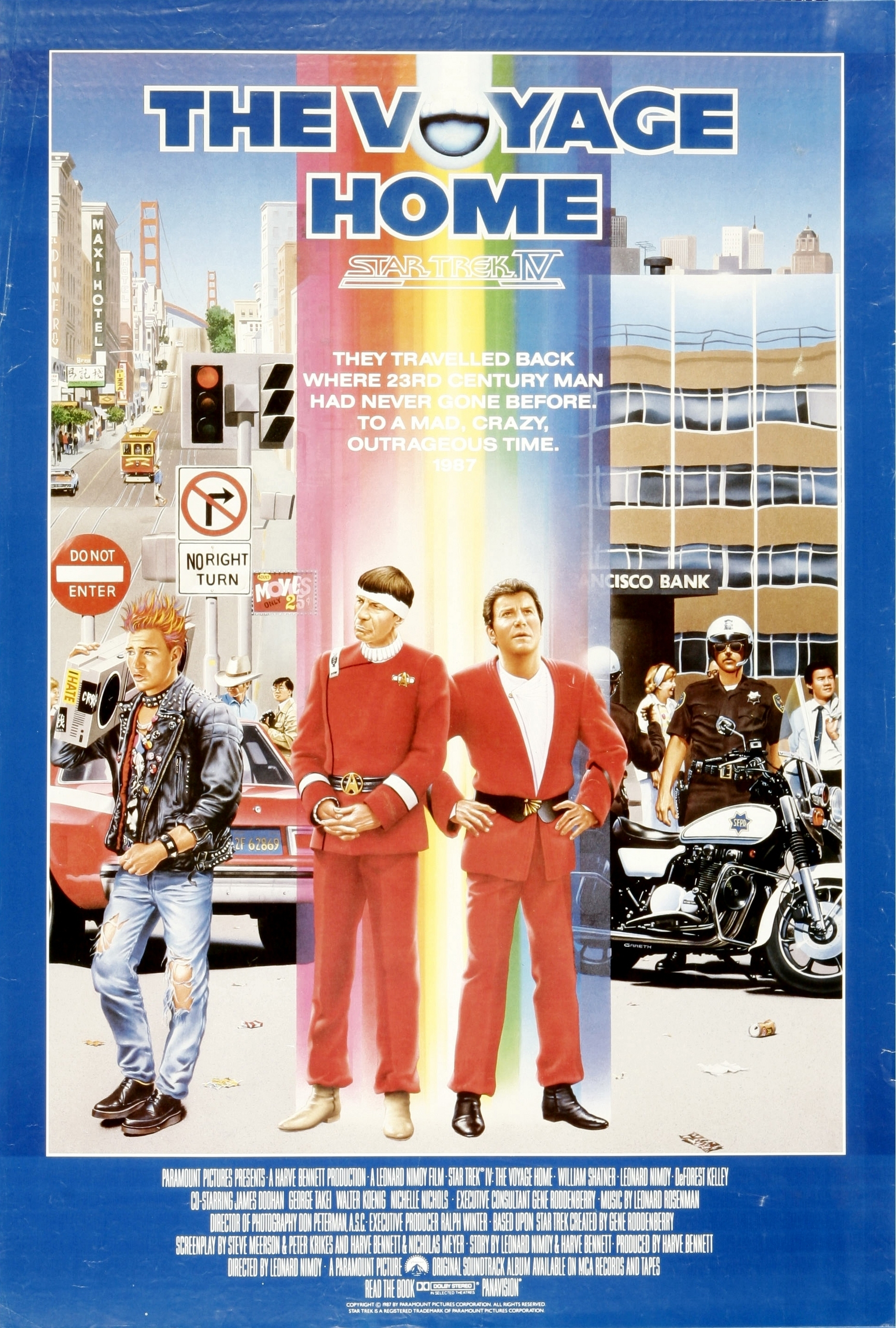 Star Trek IV: The Voyage Home movies in France