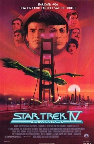 ster Trek IV: The Voyage home pagina poster