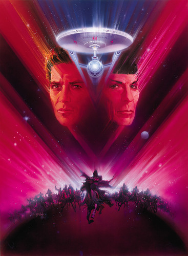 bintang Trek V: The Final Frontier poster