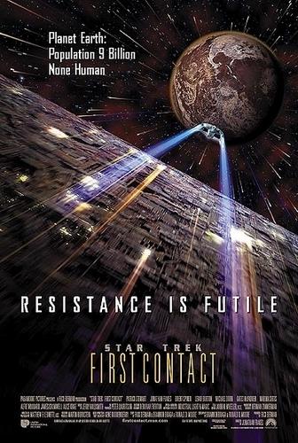 nyota Trek VIII: First Contact poster