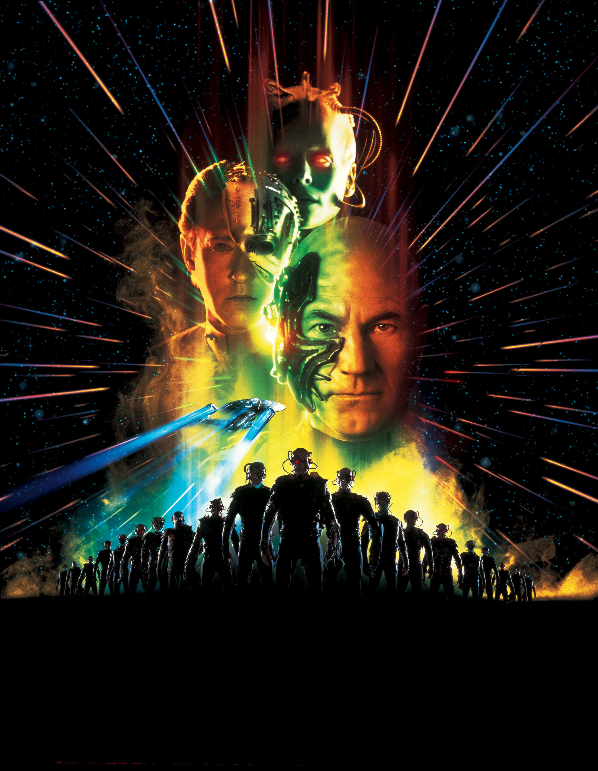 Star Trek Movies Images VIII First Contact Poster HD Wallpaper And Background Photos