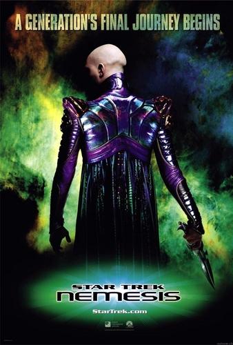 nyota Trek X : Nemesis poster