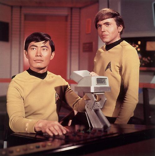 Sulu and Chekov