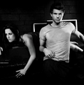 Taylor &amp; Kristen (manip) - kristen-stewart-and-taylor-lautner photo