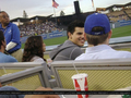 Taylor au Match des Dodgers - twilight-series photo