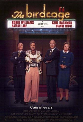 The Birdcage Movie Poster
