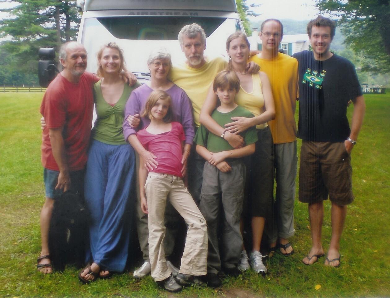 The Gilbert Family in 2007