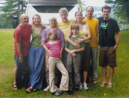 The Gilbert Family in 2007