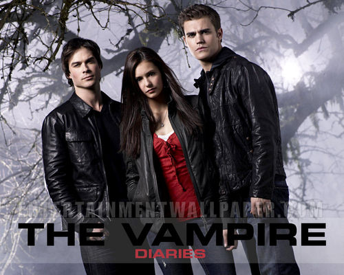The Vampire Diaries پیپر وال containing a well dressed person and a business suit called The Vampire Diaires