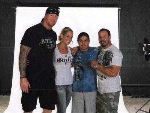 I'm glad John Cena buried the Wyatt Family at Wrestlemania ...Michelle Mccool And Undertaker 2013