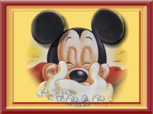 Very happy Mickey