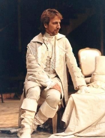 Alan Rickman karatasi la kupamba ukuta called Vicomte De Valmont (1985)