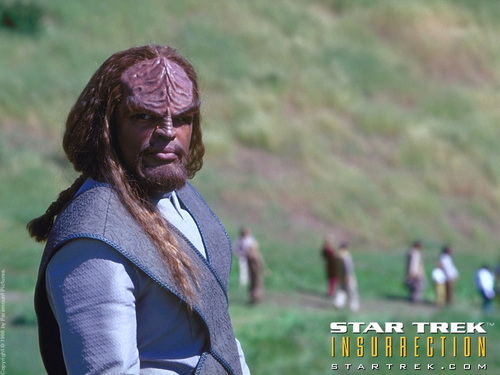 Worf wallpaper probably containing an outerwear entitled Worf
