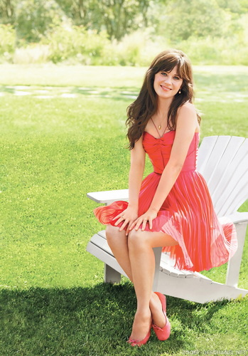 Zooey Deschanel wallpaper titled Zooey Deschanel | Self Magazine Photoshoot (HQ)
