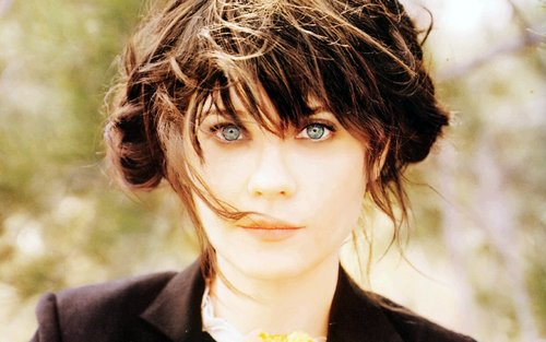 Zooey Deschanel Widescreen वॉलपेपर