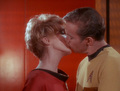 captain Kirk and Areel Shaw - star-trek-couples screencap