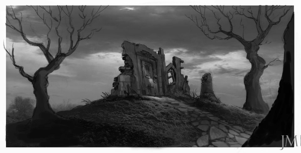 concept art for the 2010 film.