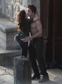 kristen - 2009:WITH ROBERT PATTINSON ON THE SET OF THE TWILIGHT SAGA:NEW MOON IN MONTEPULCIANO,ITALY - twilight-series photo