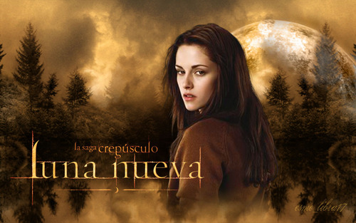 luna Nueva - Обои made by me - Bella лебедь