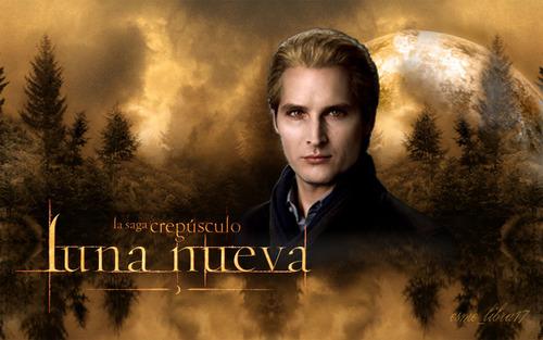luna Nueva - karatasi la kupamba ukuta made kwa me - Carlisle Cullen